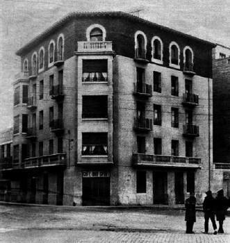 Immeuble du Duende à Saragosse