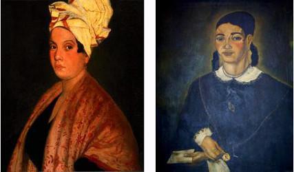 Marie Laveau et sa fille Marie Phelomène