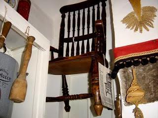 La chaise au musée de Thirsk