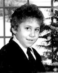 David Berkowitz à 8 ans