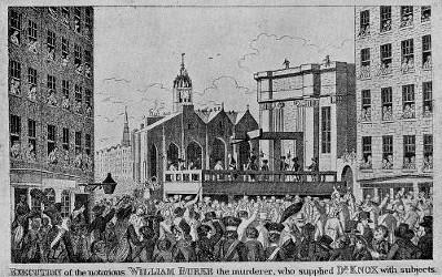 L'exécution de William Burke