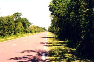La route de Lessay