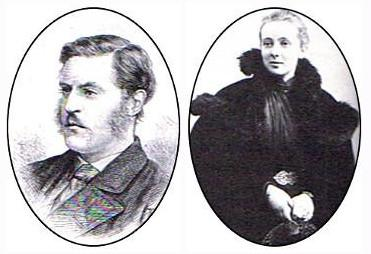 Lord Bute et Mlle Ada Goodrich Freer
