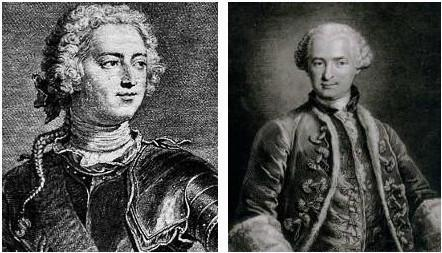 Louis XV et Le comte de Saint-Germain
