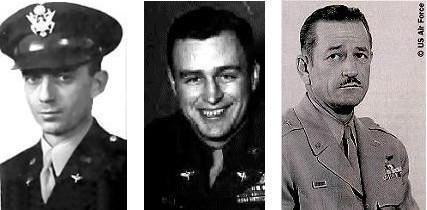Le major Marcel, le colonel Blanchard et le général Ramey