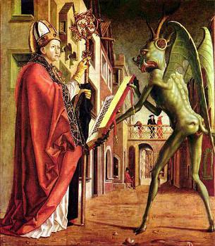 St-Augustin et le Diable