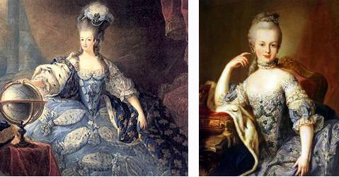 La comtesse d'Adhémar et Marie-Antoinette