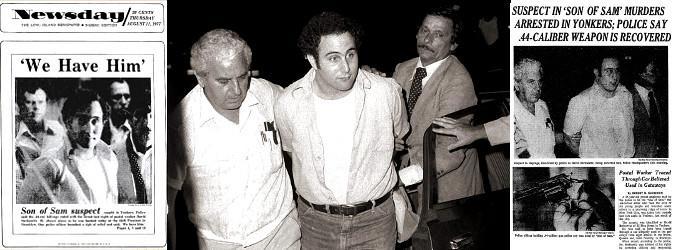 Arrestation Son of Sam