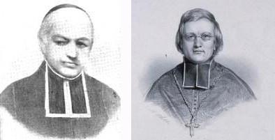 Charles Brey et Mgr André Raëss