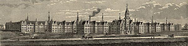L'hôpital psychiatrique de Danvers en 1887