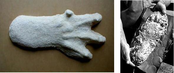Les deux types d'empreintes