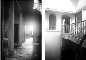 L'intérieur du Manoir Ballechin