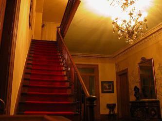 L'escalier que l'on dit hanté
