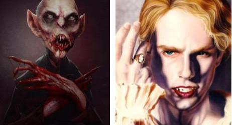 L'évolution du Vampire