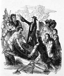 Exhumation de Johannes Cuntius