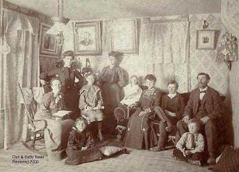 Lurancy et sa famille