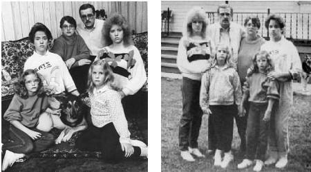 La famille Smurl