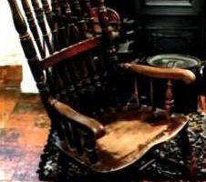 La Chaise Maudite de Thomas Busby