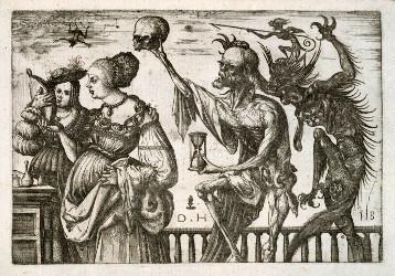 La femme, la Mort et le Diable