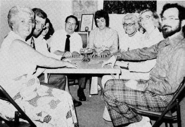 George Owen et les membres du groupe