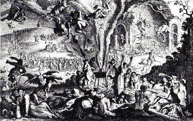 Les Sorcières au Sabbat