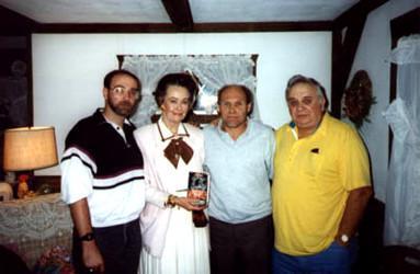 John Zaffis, Lorraine Warren, Bill Ramsey et Ed Warren