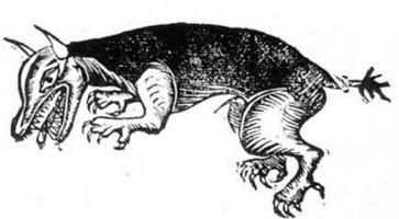 Loup-garou bondissant