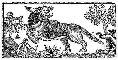 Loup-garou nourrisson