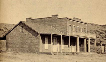 La Maison Whaley en 1865