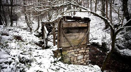Les ruines du vieux moulin