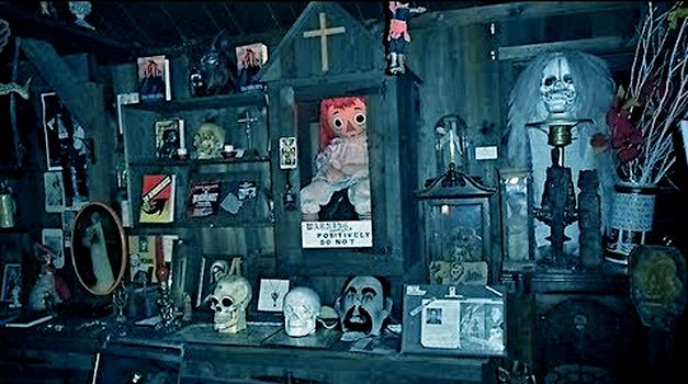 Annabelle au Musée de l'Occulte