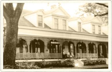 La maison Myrtles