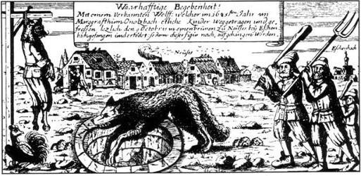 Pendaison d'un loup-garou