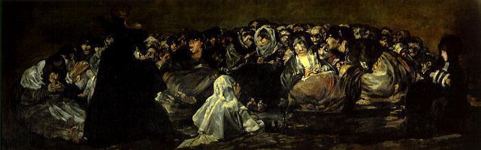 Sabbat des Sorcières Goya