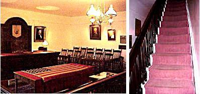 La Salle d'Audience et l'Escalier