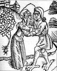 Sorcière et son Amant Démoniaque