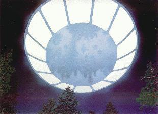 La soucoupe représentée par Michael Rogers
