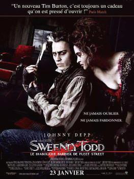 Affiche Sweeney Todd: Le Diabolique Barbier de Fleet Street