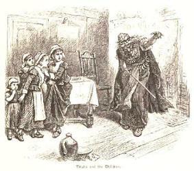 Tituba et les Fillettes