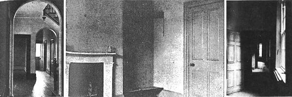 Le Hall, la Chambre Bleue et le Passage de la Cuisine