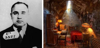 Al Capone et sa cellule de luxe