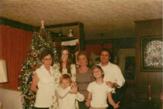 La famille en 1974.
