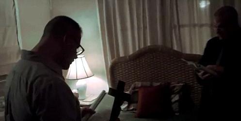 Ralph Sarchie lors d'un exorcisme