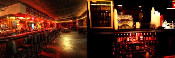 Bar et stock d'alcool du Bobby Mackey's Music World