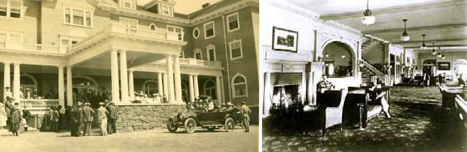 L'Hôtel Stanley à ses débuts