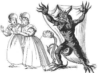 Jack terrifie deux femmes