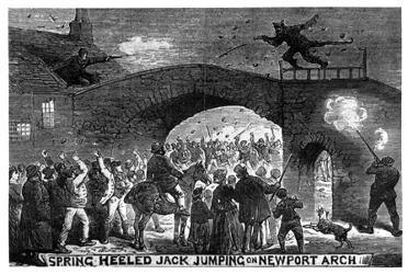 Jack à Newport Arch