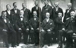 Le Shérif Plummer et les membres du Jury.