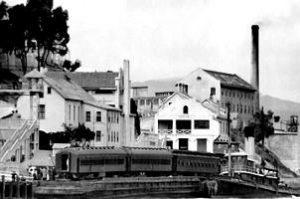 Arrivée des premiers prisonniers en août 1934