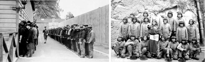 Prisonniers Alcatraz